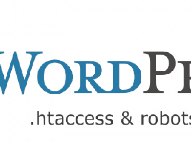 htaccess и robots.txt для WordPress